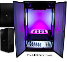 led supernova u2013 16 plant grow box