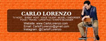 Tv Host Resume Resume U2013 Carlo Lorenzo