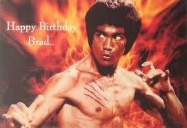 bruce lee birthday card 2 99 picclick uk