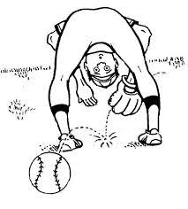 baseball player lose the ball coloring page download u0026 print