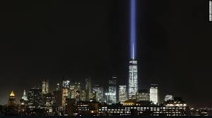 world trade center lights 9 11 tribute lights briefly shut off after birds get trapped cnn