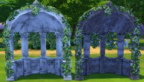 wedding arches in sims 4 my sims 4 wedding arches wine bottles beds and more by the shed