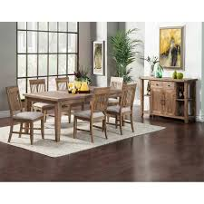 7 piece dining room sets alpine furniture aspen 7 piece dining set with optional server