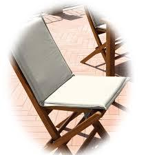 cuscini per sedie da giardino per sedia da giardino color ecru moia cs 51e