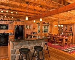 Modern Cabin Interior by Log Homes Interior Designs Prepossessing Home Ideas Interior