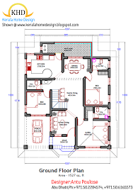 new homes plans exclusive idea kerala house plans 1800 square 3 home plan and