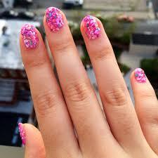 seashells manicure diy popsugar beauty