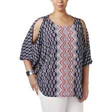 alfani blouses alfani shoulder sleeve tops blouses for ebay