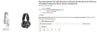 black friday blue yeti amazon gold box u2013 blue microphones over 35 off yeti 85