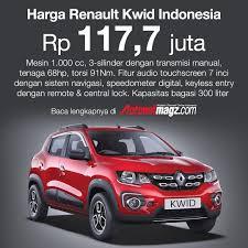 renault indonesia renault kwid indonesia resmi meluncur harga cuma 117 jutaan