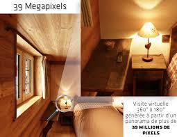 chambre virtuelle visite virtuelle immersive à 360 la chambre d hôte la lenta de la