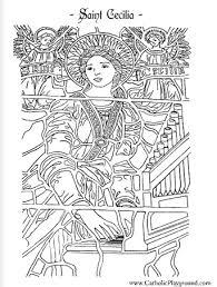saint valentine coloring page catholic playground reference