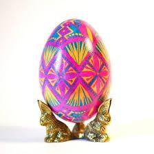 ukrainian egg goose pysanka ukrainian easter egg ostereier easter decorations ei