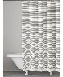 Kate Spade Striped Shower Curtain Kassatex Halsey Cotton Stripe Shower Curtain Shower Curtains