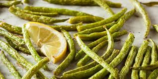 roasted green beans with fresh garlic recipe epicurious com