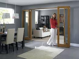Interior Folding Glass Doors Folding Glass Doors Living Room Dining Room Or Dining