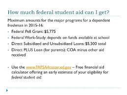 financial aid february 2 how america pays for college ppt
