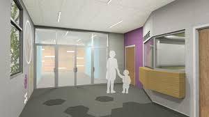 Entry Vestibule by Architechnics New Elementary At The 48th Street Site