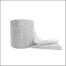 mesh ribbon table decorations wedding centerpieces 4 75 10yards silver mesh wrap roll