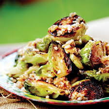 cuisiner le choux de bruxelle salade de bruxelles grillés châtelaine