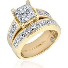 yellow gold bridal sets reeds white gold and yellow gold diamond bridal set 3ctw r