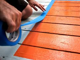 Painting An Outdoor Rug Spruce Up A Deck With A Painted Rug Decking Hgtv And Outdoor