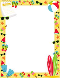 free summer borders clip art page borders and vector graphics50