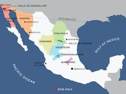 Italy Wine Regions Map by An Overview Of Mexican Wine Country Wine Folly