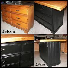 what is a kitchen island my daughter u0027s old hand me down dresser was sitting in the basement