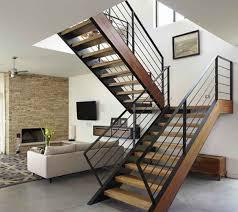 natural modern wood stair railings modern wood stair railings