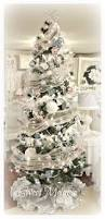 Shabby Chic Christmas Tree by Pink Christmas White Christmas Bottle Brush Tree Silverplated