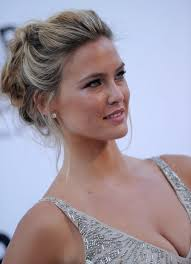 soft updo hairstyles bar refaeli loose textured messy updo hottest messy updo