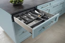 cabinets u0026 drawer black concrete countertop blue country kitchen