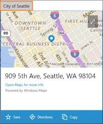 Maps For Business Cards Display Maps With 2d 3d And Streetside Views Uwp App Developer