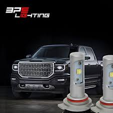 led lights for 2014 gmc sierra gmc sierra 2014 2016 plug play bps lighting g8 led headlight bulbs