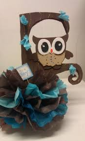 owl centerpieces s creations baby shower theme centerpieces