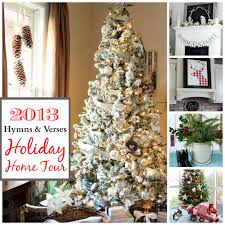Top 10 Favorite Blogger Home Tours Bless Er House So 2013 Christmas Home Tour Hymns And Verses