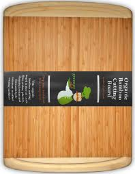 extra large bamboo cutting board with juice groove extra wide