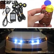 remote control car lights remote control car work led lights 12v 12w hawkeye daytime car