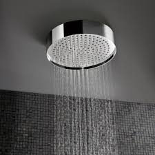 Ceiling Mounted Rain Shower by Round Ceiling Mounted Rain Shower 320mm Streamline Products