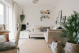 build a living room scandi boho living room makeover reveal in a new build property