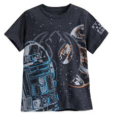 r2 d2 and bb 8 t shirt for boys wars the last jedi