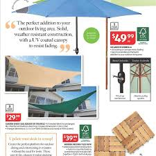 Aldi Garden Furniture Aldi Next Sat 27th Outdoor Living Bbq Garden Shade Sail 29 99
