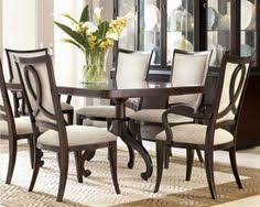 Thomasville Dining Room Table And Chairs by Thomasville Furniture Urban Retreat Dining Table And Flint Black