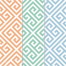 Greek Key Motif Seamless Greek Key Background Pattern In Three Color Variations