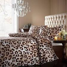 modern makeover and decorations ideas cheetah print bedroom