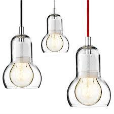 Light Bulb Pendant Modern Mega Bulb Pendant Light Fixtures Glass Pendant L Ceiling