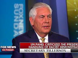 Trump S Favorite President Tillerson Says Trump U0027speaks For Himself U0027 Representing American