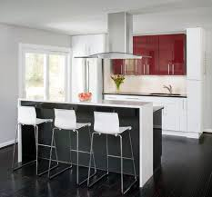 new york modern bar stool kitchen with floor to ceiling windows