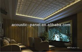 Noise Cancelling Ceiling Tiles by Soundproof Decorative Ceiling Tiles 3d Polyurethane Diffuser Wall